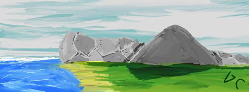 Landscape earth easy by artgh