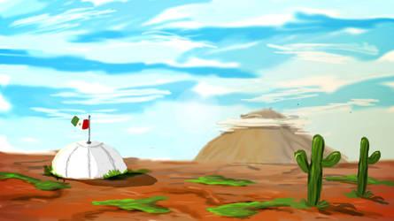 Landscape Mexico Practice by artgh