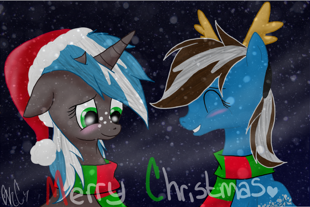 Merry Christmas~! by Silent-x-Sketch