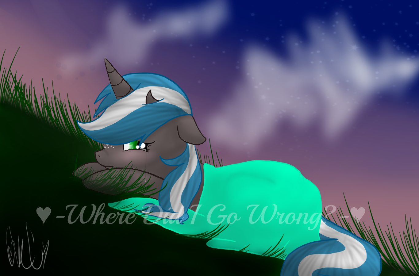 .:Where Did I Go Wrong?:. by Silent-x-Sketch