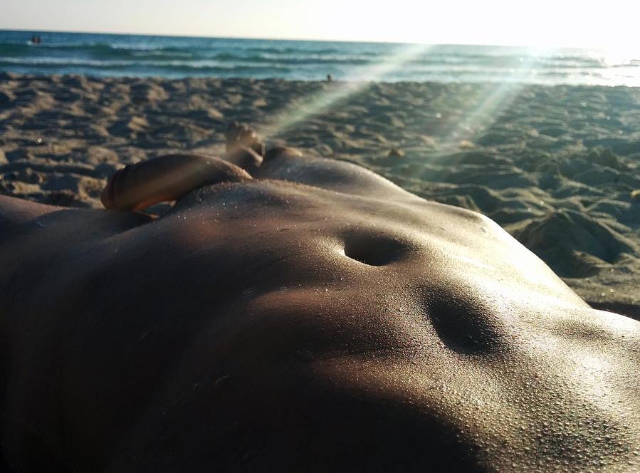 Sun shining on my skin by nenin20