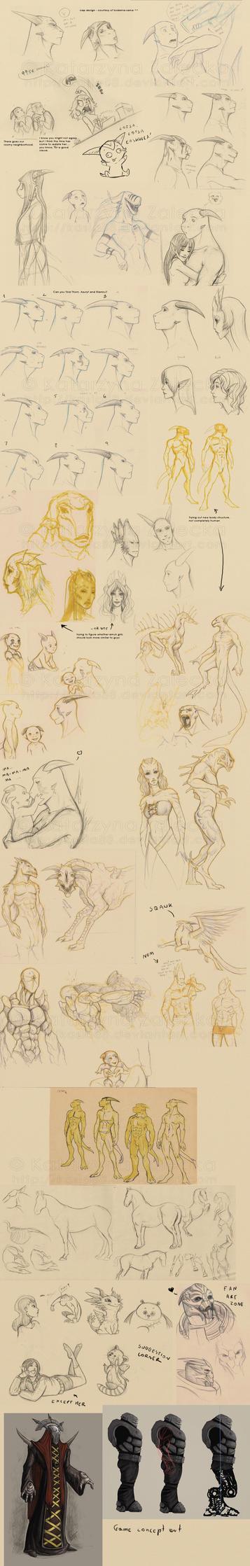 august 09 sketchdump by Sythgara