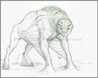 creature concept 9 by Sythgara