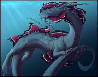 Water Dragon by Sythgara