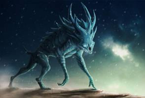 Ice Demon color by Sythgara