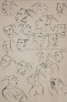 easkull sketches by Sythgara