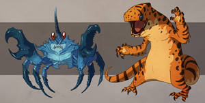 Potluck games critters by Sythgara