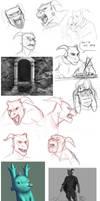 august 14 sketchdump