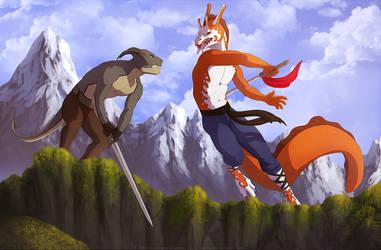 fight commission - lunix33 by Sythgara