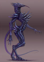Pest hunter full body by Sythgara