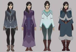 Rilah wardrobe by Sythgara