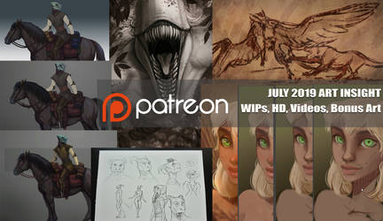 July Patreon preview