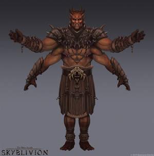 Skyblivion - Dagon concept art