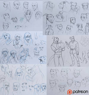 December 2020 sketchdump p1