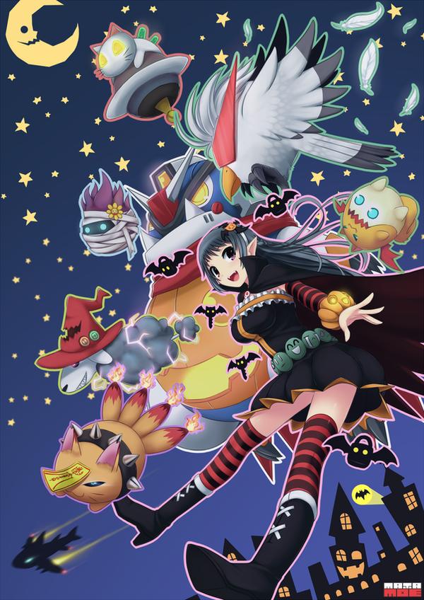 MATAMOE Halloween :D by PinguinKotak