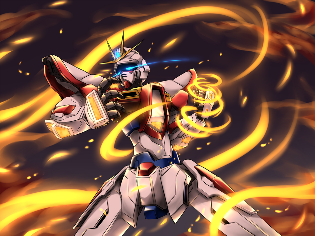 Build Burning Gundam by Pinguin-Kotak