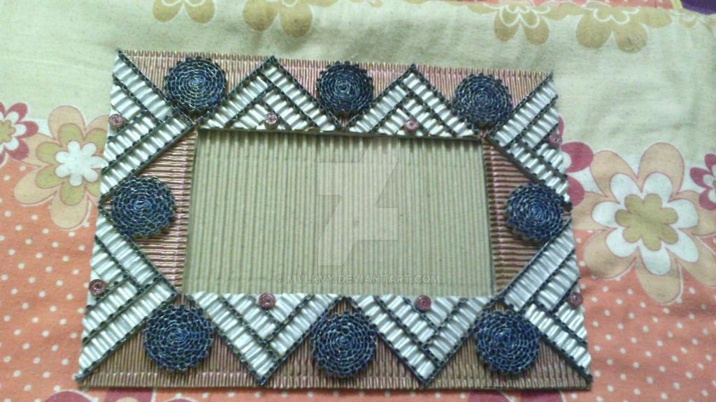 corrugated cardboard photo frame 27 by mvlrvy on DeviantArt
