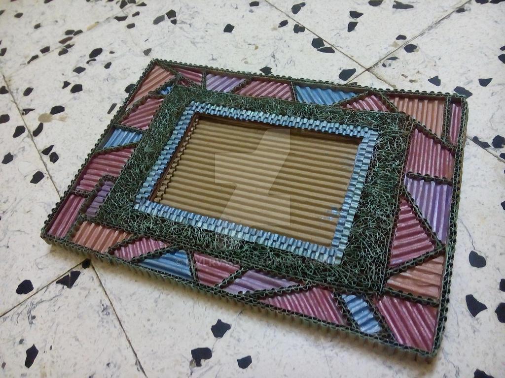 corrugated cardboard photo frame 35 by mvlrvy on DeviantArt