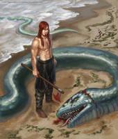 Serpent (long hair edition) by MeMyMine
