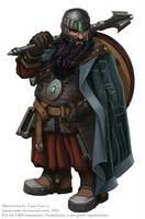 Dwarf Cleric by MeMyMine