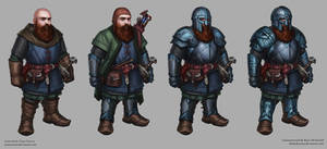 Dwarf RPG character for Ryan