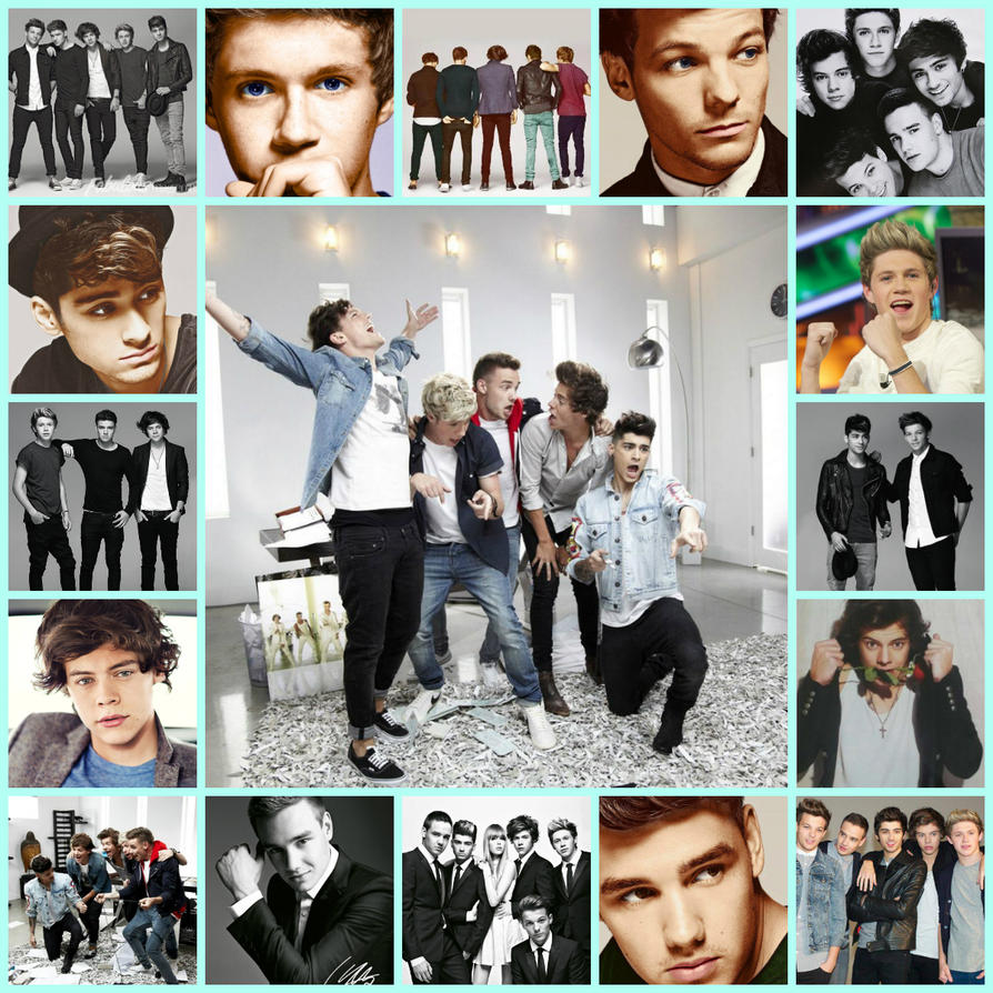 collage one direction by estela71 on DeviantArtOne Direction 2013 Collage Wallpaper