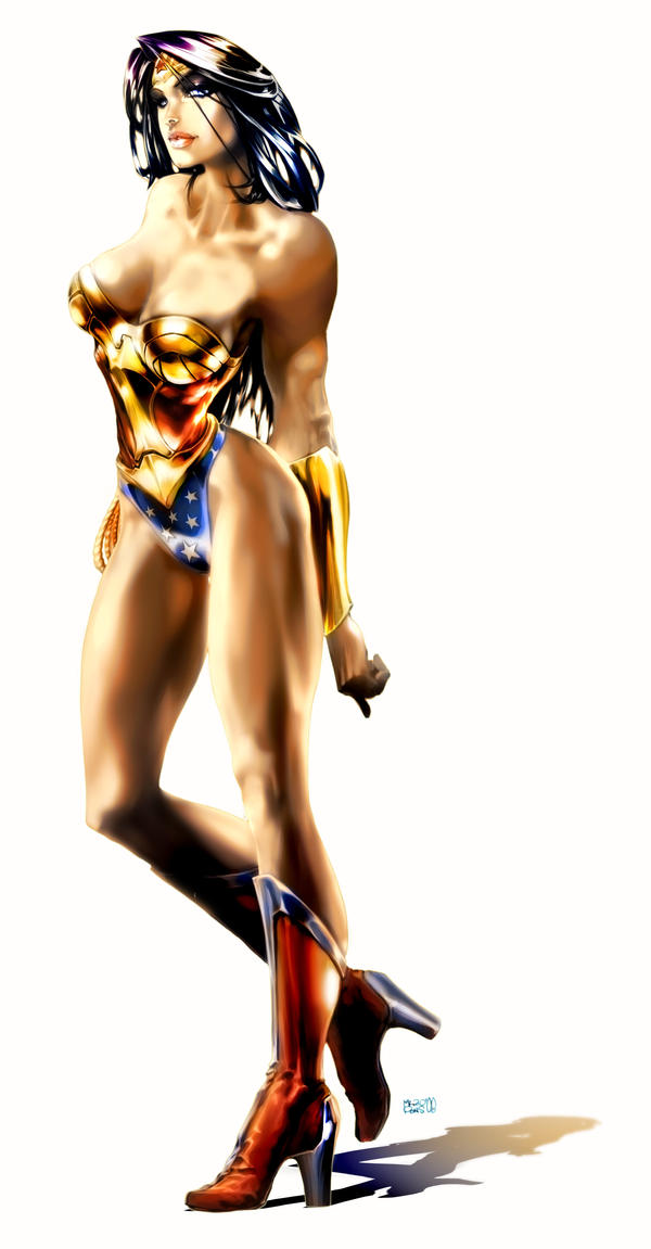 Wonder Woman Concept by MarioPons