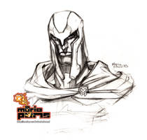Magneto sketch by MarioPons