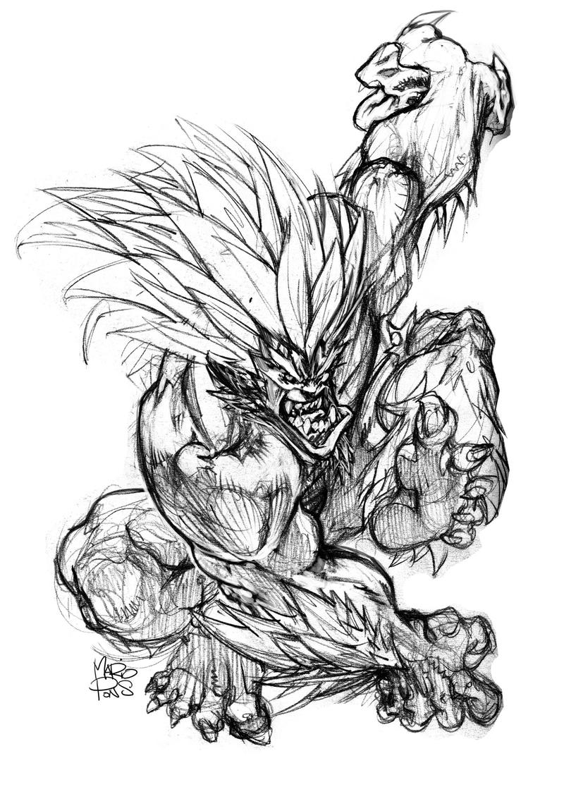 Blanka by MarioPons