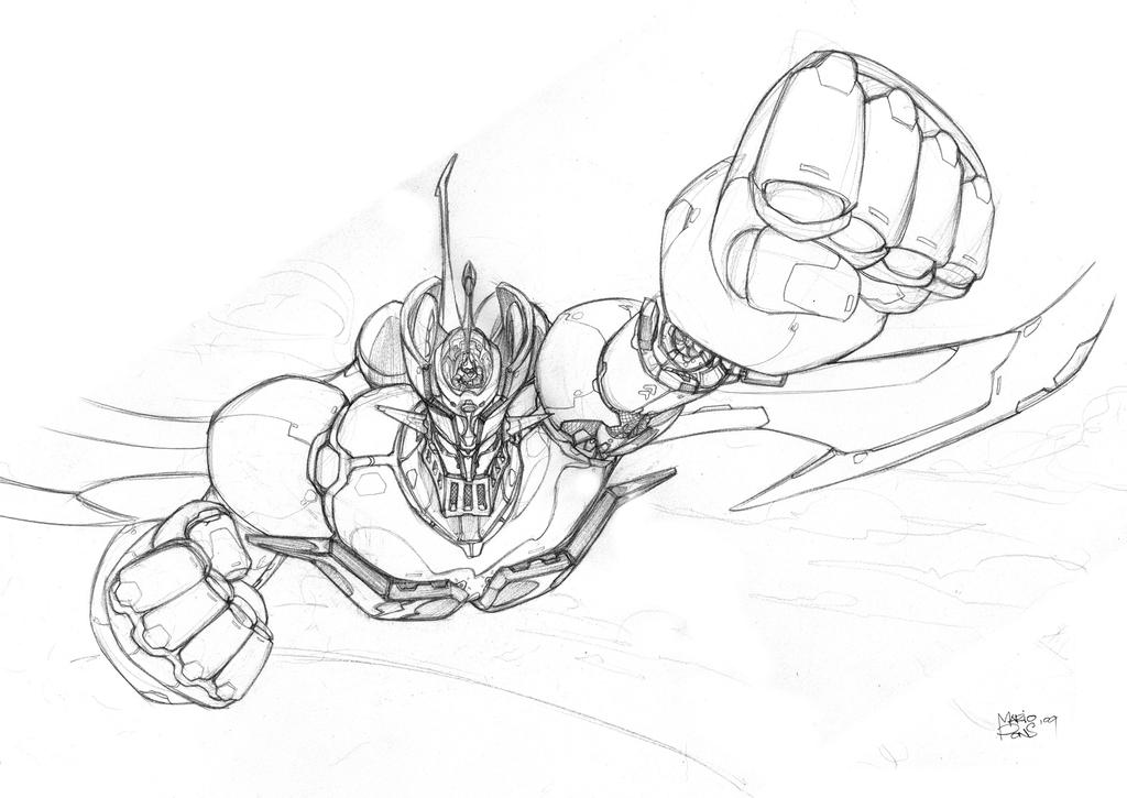 mazinger z coloring pages - photo#10