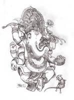 Ganesha by MarioPons