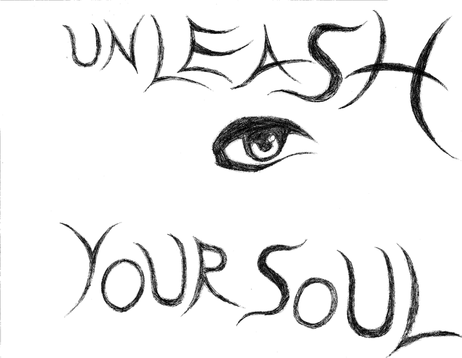 Unleash Your Soul (Uncolored) by HauntedShadowsLegacy