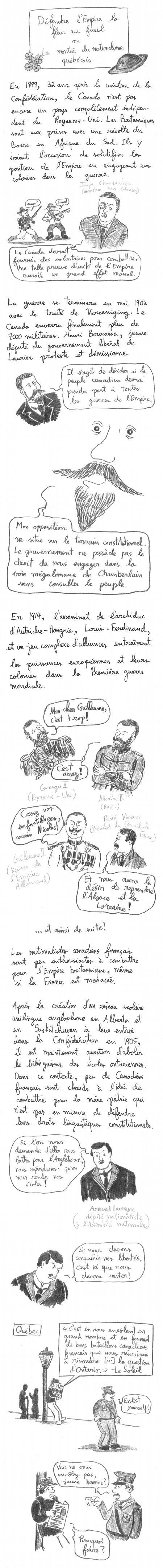 Histoire de la Confédération canadienne - 3