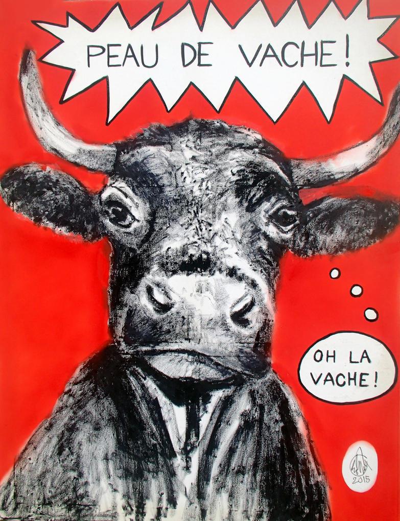 Peau de vache by aurelie cholley on deviantart for Chaise peau de vache
