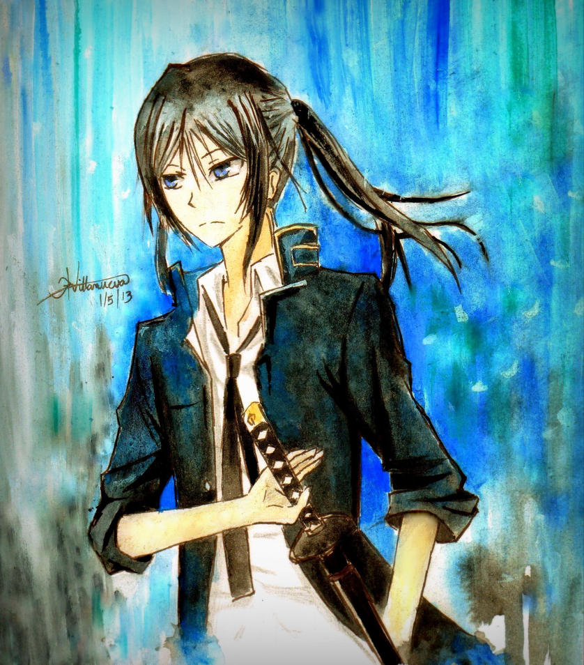 Fanart- Kuroh (K Project) by like2draw001