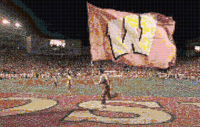 Actionscript Mosaic Wisconsin by Rahzizzle