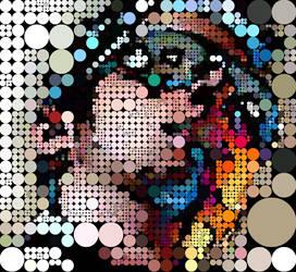Digital Circlism - Self Portra