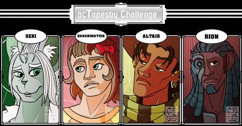 100oc Tapestry Challenge: Tapestry 17