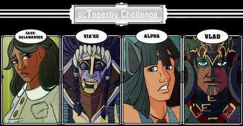 100oc Tapestry Challenge: Tapestry 19