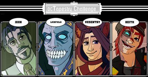 100 oc tapestry challenge: Tapestry 22