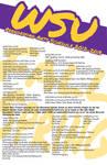 Weber State University 2012-2013 PA Schedule