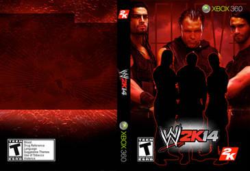 WWE 2K14 Full Shield Cover