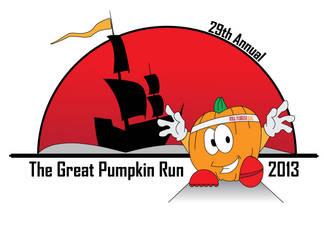 The Great Pumpkin Run 2013 revised logo by LinsWard