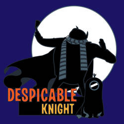 Despicable Knight - blue