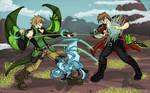 Designated Girl Fight by Chikara-Redwing