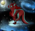 .: Follow the moon :. by Jedii