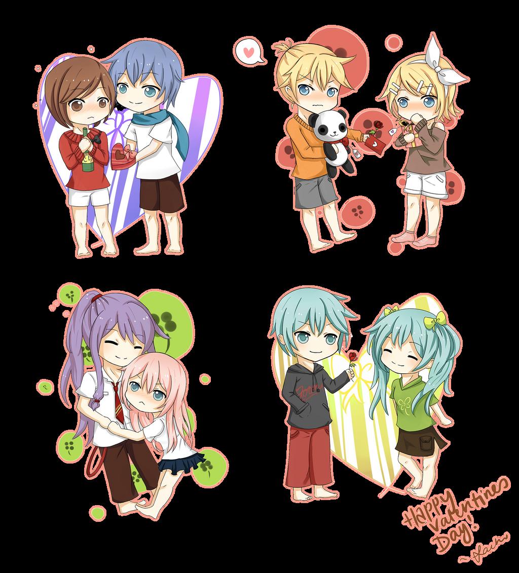 Happy valentines day by usarei on deviantart - Happy valentines day anime ...