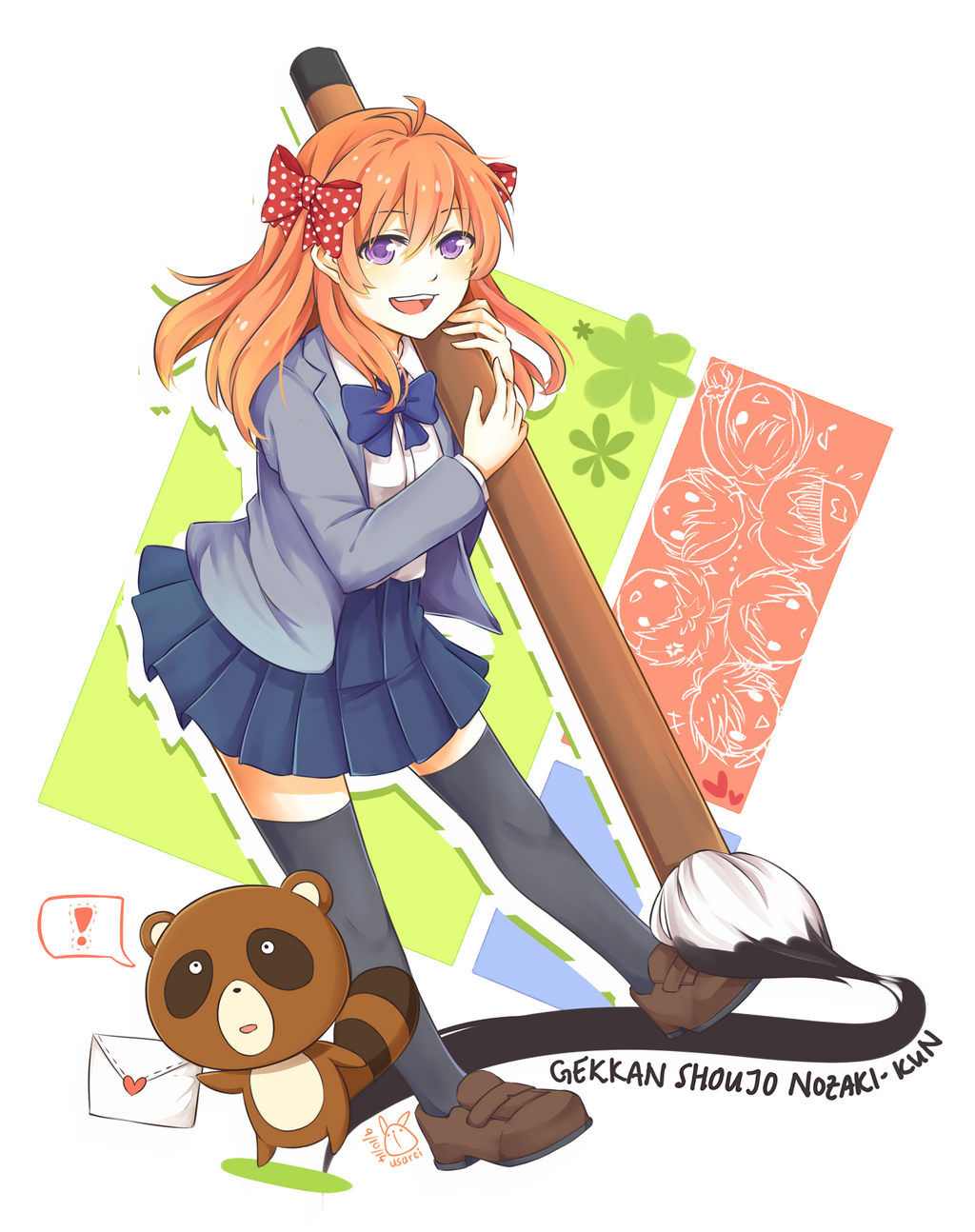 Oresama Teacher Wallpaper Gekkan Shoujo Nozaki-k...