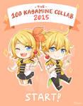 100 Kagamine Collaboration 2015