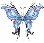 ::Tribal butterfly::